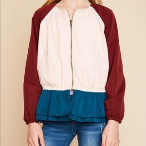 Hayden Jackets & Coats - Peplum Spring Jacket for Girls